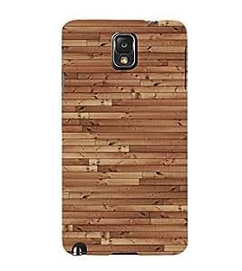 Dark Barn Wood Cute Fashion 3D Hard Polycarbonate Designer Back Case Cover for Samsung Galaxy Note 3 :: Samsung Galaxy Note III :: Samsung Galaxy Note 3 N9002 :: Samsung Galaxy Note N9000 N9005