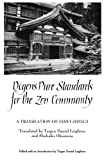 Dogens Pure Standards for the Zen Community: A Translation of Eihei Shingi (Suny Series, Buddhist Studies)