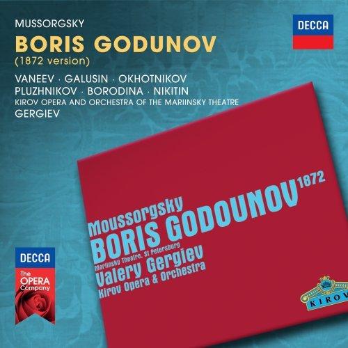 Boris Godunov - Mussorgsky - CD
