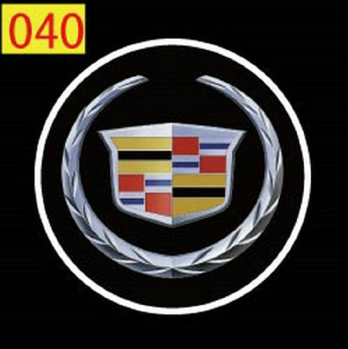 Sun-Electronic@ 2 X 5Th Gen Led Car Door Ghost Shadow Laser Projector Logo Light For Cadillac Eldorado Sedan De Ville Catera Cts Xlr Bls Sts Srx Xts Dts Escalade Elmiraj..