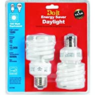 dib Global Sourcing 517-765 Twist 2-Pack CFL Bulb