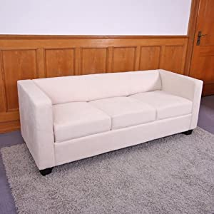 Billig 3er sofa couch loungesofa m65 mikrofaser for Couch billig