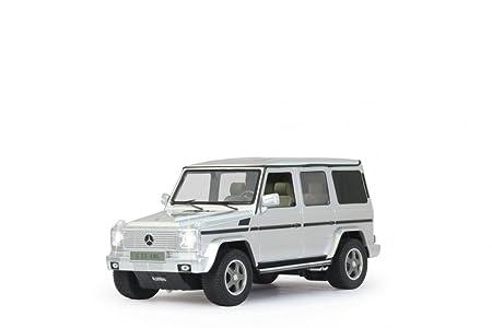 Jamara - 403911 - Maquette - Voiture - Mercedes G55 Amg - Argent - 3 Pièces