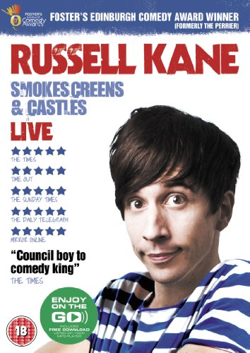 Russell Kane - Smokescreens &  Castles Live [DVD]