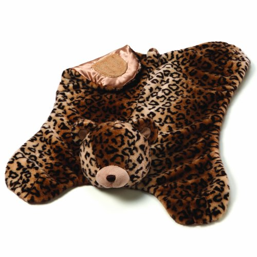 Gund Baby Jayme Leopard Print Comfy Cozy Blanket (Discontinued by Manufacturer)