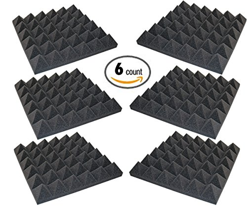 6-pack-acoustic-foam-sound-absorption-pyramid-studio-treatment-wall-panels-2-x-12-x-12