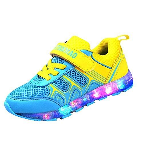 zapatos-led-nios-Kidslove-Zapatillas-led-nio-Zapatos-LED-nia-brillo-led-Zapatilla-de-la-moda-Zapatos-con-LED-7-colores-Zapatos-casuales-para-nios-USB-Carga-Sneakers-infantiles-deportes