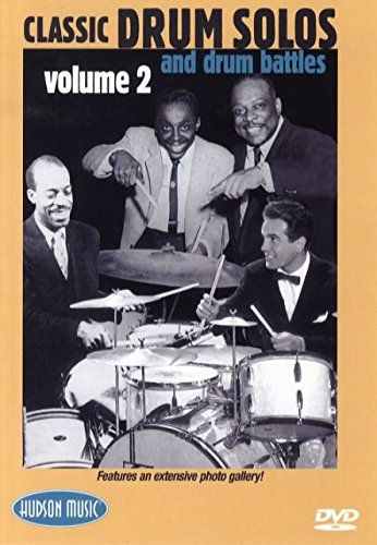 Classic Drum Solos And Drum Battles Volume 2 (Card). Für Schlagzeug
