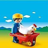 Playmobil - A1502793 - Jeu De Construction - Fermier Avec Brouette
