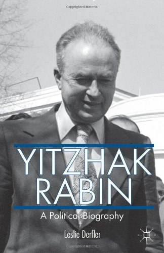 a biography of yitzhak rabin Yitzhak rabin, march 1, 1922, yitzhak rabin was born on march 1st, 1922, his birthplace was in jerusalem, mandatory palestine.