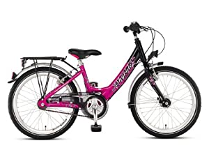 puky 20 zoll kinderfahrrad skyride 20 farbe pink weiss. Black Bedroom Furniture Sets. Home Design Ideas