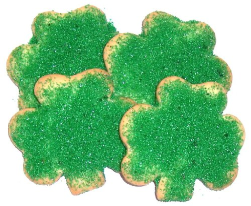 Scott's Cakes Shamrock Cookie  Green Sugar in