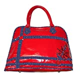 Voodoo Vixen Womens Top Handle Bag Red RED Einheitsgröße