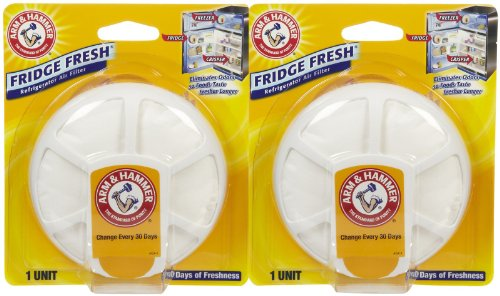 Arm & Hammer Fridge Fresh Refrigerator Air Filter - 2 pk (Hammer Fridge compare prices)
