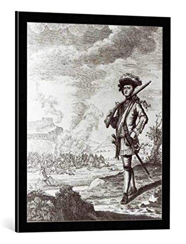 quadro-con-cornice-thomas-nicholls-captain-henry-morgan-at-the-sack-of-panama-in-1671-c1734-stampa-a