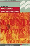 Mastering English Literature (Palgrave Master Series) (0333625293) by Gill, Roma