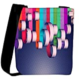 Snoogg House Paint Designer Womens Carry Around Cross Body Tote Handbag Sling Bags