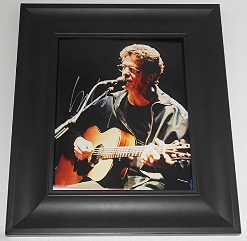 Lou Reed Transformer Hand Signed Autographed 8x10 Glossy Photo Gallery Framed Loa