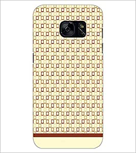 PrintDhaba Pattern D-1582 Back Case Cover for SAMSUNG GALAXY S7 (Multi-Coloured)