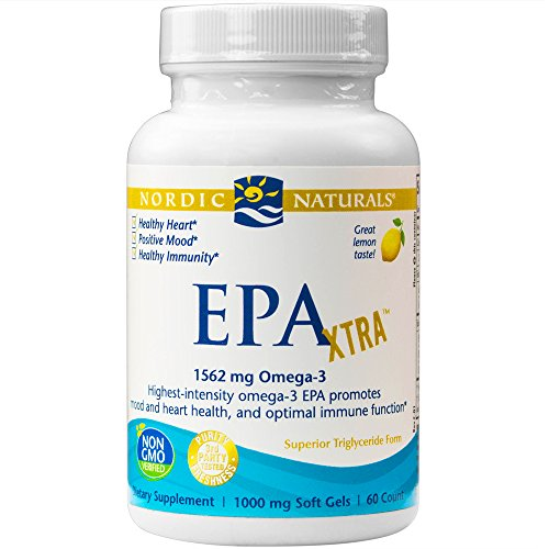 Nordic Naturals - EPA Xtra, Promotes Mood and Heart Health, and Optimal Immune Function, 60 Soft Gels (Nordic Naturals Extra Dha compare prices)