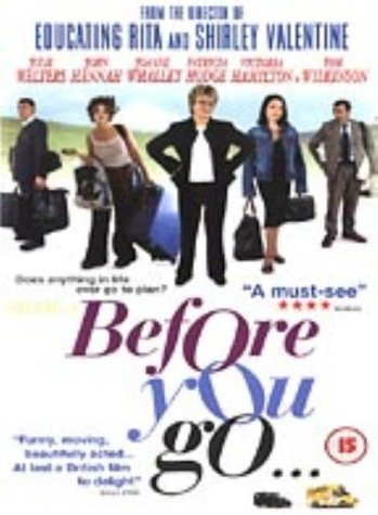Before You Go [DVD]