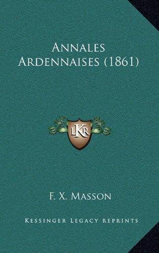 Annales Ardennaises (1861)