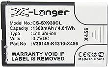 Batería para Siemens Gigaset SL930 Gigaset SL930A, Telekom Speedphone 701 (1300mAh)