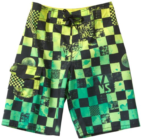 vans-off-the-wall-board-boys-shorts-lime-punch-check-size14