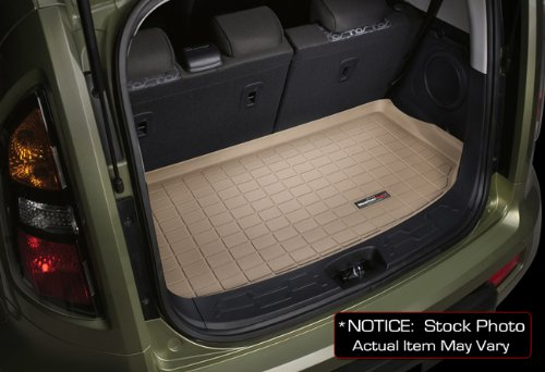 img View detail 2003-2010 Porsche Cayenne WeatherTech Tan Cargo Liners All Weather from amazon.com