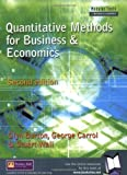 img - for Quantitative Methods for Business & Economics (Modular Texts in Business & Economics) book / textbook / text book