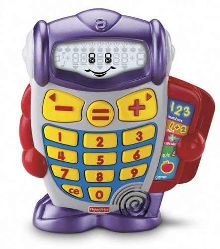 CalcuBot Calculator - Buy CalcuBot Calculator - Purchase CalcuBot Calculator (Fisher-Price, Toys & Games,Categories,Electronics for Kids,Learning & Education,Toys)
