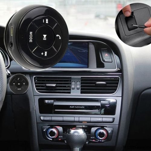 Acten Hand Free Car Wireless 10M Bluetooth Music Player Fm Support Answer Phone