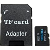 ELEGIANT 32GB Micro SD HC Card With FREE Adapter Class6 Universal TF Flash Memory Card