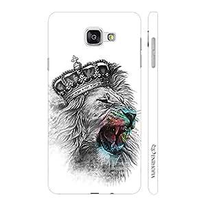 Enthopia Designer Hardshell Case Kings Roar Back Cover for Samsung Galaxy A7(2016)