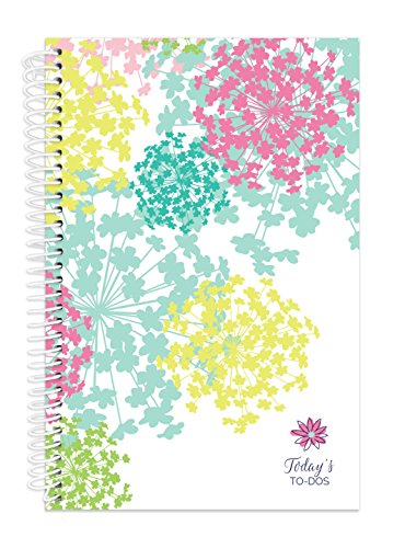 "bloom daily planners Bound To-Do List Book - Planning System Tear Off To Do Pads - Daily Planner To Do Pad 6"" x 8.25"" - Bloom"
