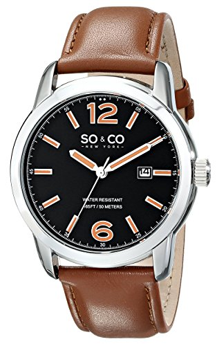 SOCO New York Mens 5011L1 Madison Analog Photo