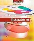 echange, troc Jürgen Schöntauf, Vera Sartorius - Illustrator 10, m. CD-ROM
