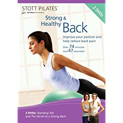 Stott Pilates Strong and Healthy Back DVD (Set of 2)