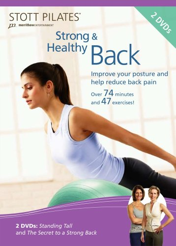 Stott Pilates: Strong & Healthy Back [DVD] [2009] [US Import]