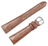 Genuine Lizard Watchband Honey 15mm Watch band – by deBeer