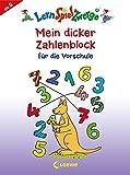 Mein dicker Zahlenblock für die Vorschule