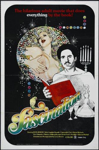 Fascination Poster film, 69 x 102 cm, Ron Jeremy'Tracy Adams Bobbie Burns Adam De Haven Margo DuMont