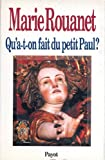img - for Qu'a-t-on fait du petit paul ? (French Edition) book / textbook / text book