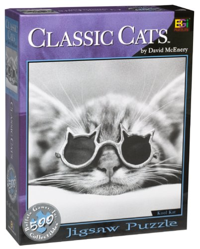 David McEnery Classic Cats 500-piece Puzzle by Buffalo Games - 1