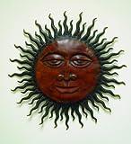 Sunburst Wall Aztec Abstract Metal Art Indoor Outdoor Sculpture