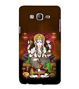 printtech Lord God Ganesha Back Case Cover for Samsung Galaxy On5