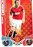 Michael CARRICK Man Utd Individual Match Attax 2010/11 Trading Card