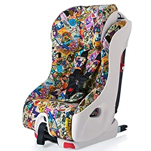 Clek Foonf 2014 Special Edition Tokidoki Convertible Car Seat, Travel