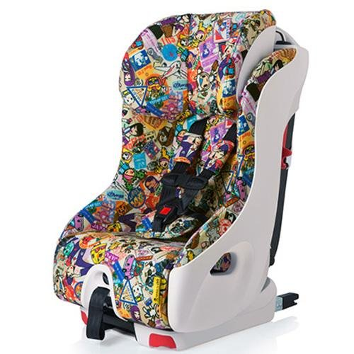 Clek Foonf 2014 Special Edition Tokidoki Convertible Car Seat, Travel front-48110