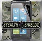 2-Pack Stealth Shieldz© HTC 7 TROPHY Screen Protector LIFETIME WARRANTY (Ultra CLEAR)(Stealth Shieldz© Retail Packaging)